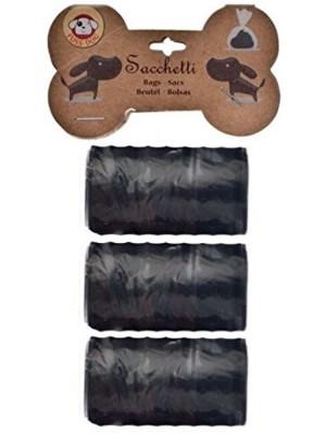 Sacchetti igienici per Cani - Confezione di 3 rotolini da 20 sacchetti