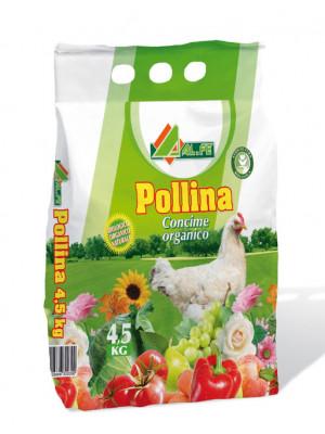 Concime organico pollina confezione da 4,5 kg