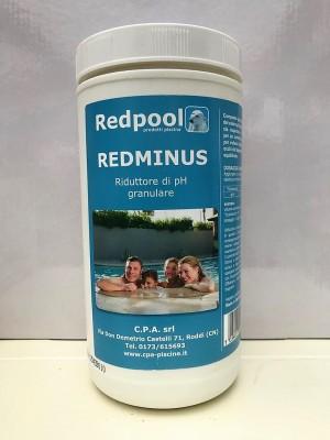 Redminus riduttore di PH granulare 1.5 kg