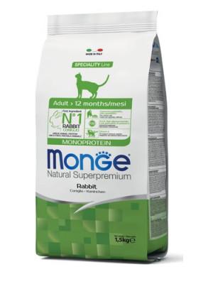 Monge monoprotein coniglio 1,5 kg