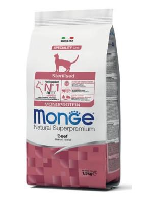 Monge sterilised manzo 1,5 kg