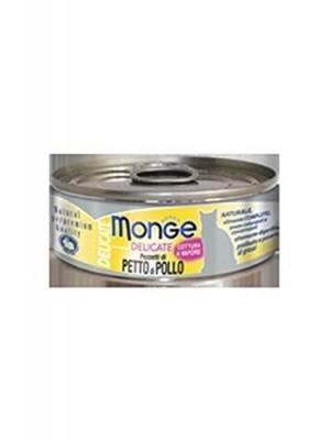 Monge - monge natural delicate petto di pollo 80 gr. - 0532