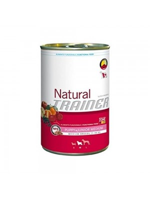 Mangime per cani Trainer Natural Puppy & Junior Medium Umido da 400 g