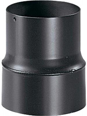"""Articolo """"Legna"""" per canna fumaria: riduzione, diametro 150 mm maschio, diametro 130 femmina"""