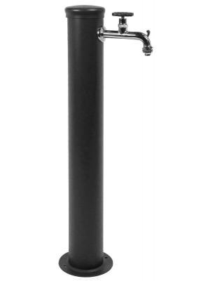 Fontana Belfer 1 rubinetto con ghiera antracite
