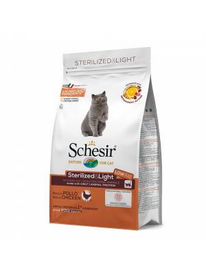 Schesir Sterilized & light ricco in pollo 1,5 kg