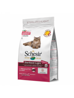 Schesir sterilized & light con prosciutto 1,5 kg