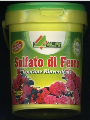 Solfato di ferro concime rinverdente prati fiori e piante kg 1